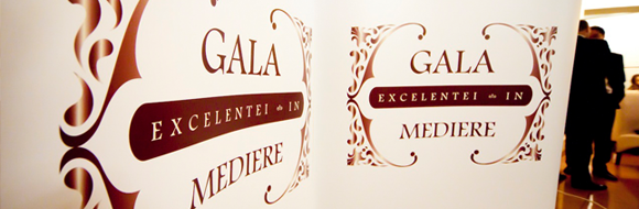 Gala Excelentei in Mediere - Editia I - 27 Septembrie 2013