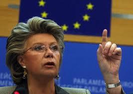 Comisarul UE pentru Justitie, Viviane Reding, considera ca lucrurile merg in directia gresita in Romania