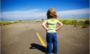 Copil pe drum