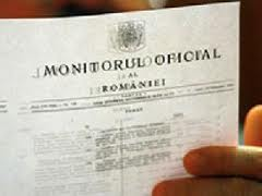 Datele cu caracter personal in Monitorul Oficial