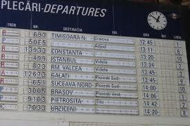 CFR Calatori: Noul Mers al Trenurilor intra in vigoare in 14 decembrie