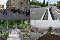 RETROSPECTIVA 2012 Vezi ce pasaje, bulevarde, statii de metrou, parcari si parcuri au fost inaugurate in Bucuresti