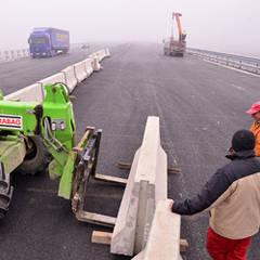Autostrada Deva-Sibiu, programata sa se incheie in mai 2013, va fi finalizata in 2014
