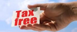 scutire taxe si impozite