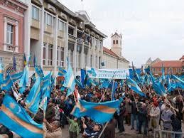 Proteste in Budapesta si Targu Mures pentru autonomia Tinutului Secuiesc