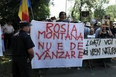 A douasprezecea duminica de proteste impotriva proiectului de la Rosia Montana