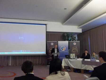 Catalin Tiuch, consilier al Presedintelui Camerei Deputatilor, la Conferinta Nationala a Mediatorilor 2013