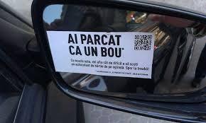 """Campania """"Ai parcat ca un bou!"""" primeste sprijin de la Politie"""