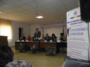 """Conferinta """"Medierea si mediatorul in sprijinul cetateanului"""", Falticeni, 4 aprilie 2014"""