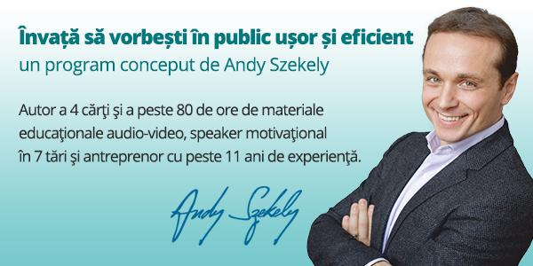 Speaker ELite: Programul care te invaţă să vorbeşti în public uşor şi eficient