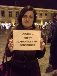 Mitinguri in marile orase din Romania pentru un vot corect in turul doi