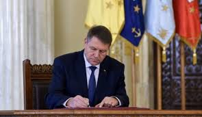klaus iohannis semnand