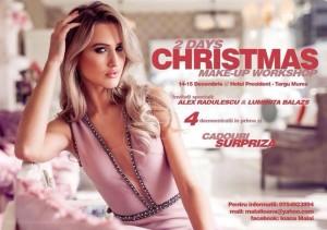 """Luminita Balazs Fashion"" lanseaza colectia de Sarbatori la Christmas Make-up Workshop Targu Mures"