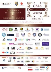 Invitatii speciali ai Galei Excelentei in Mediere 2016