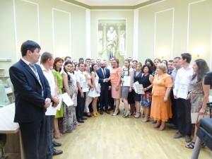 Promovarea medierii in Republica Moldova: 65 de mediatori și-au primit, în premieră, atestatele