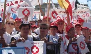 """Sanitas anunţă că negocierile au eşuat: """"Greva generală va continua şi facem un apel către colegi să nu se lase intimidaţi"""""""
