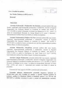 Taxe pentru sustinerea activitatii curente a Consiliului de Mediere