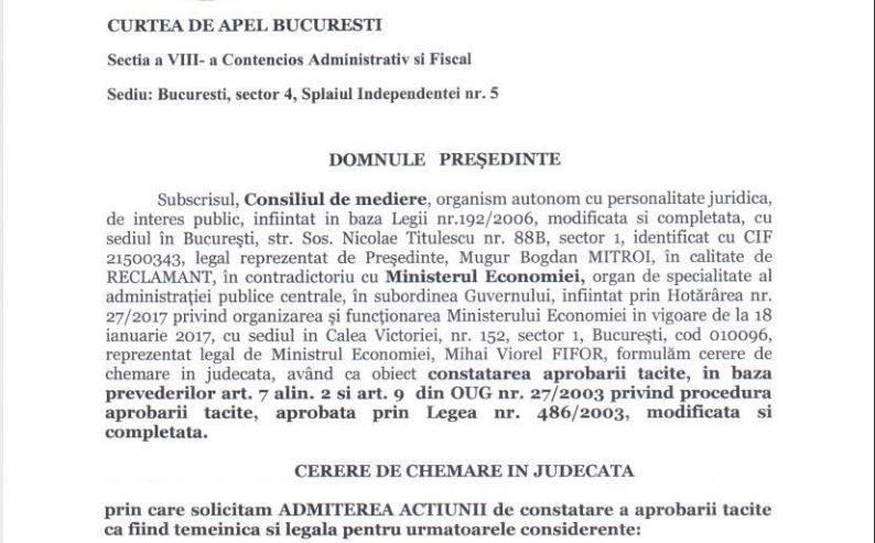 """Consiliul de Mediere: """"Colaps datorita dezinteresului Statului Roman"""""""