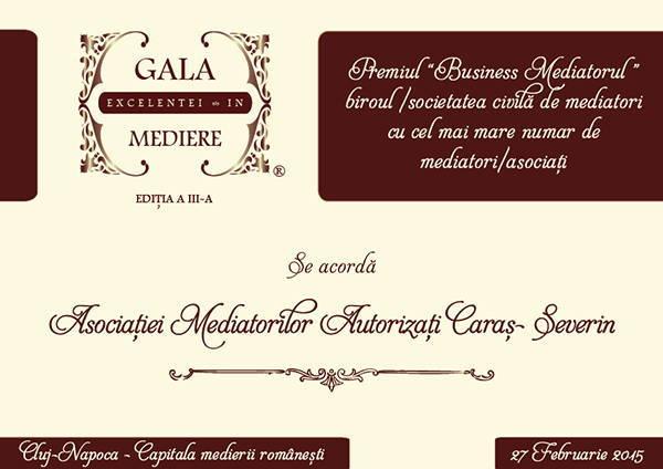 Asociatia Mediatorilor Autorizati Caras-Severin